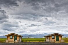 """The Hvoll Cottages near the small town of Vik is about two hours from Reykjavik. """"Vik"""" means """"bay"""" in Icelandic and these cottages have acce..."""