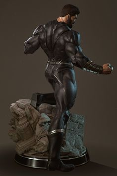 Action figures are broadly defined as a posable character figurine, built out of plastic or other materials. Superman 3d, Black Superman, Superman Artwork, Comic Books Art, Comic Art, Character Art, Character Design, Fantasy Comics, Poses References