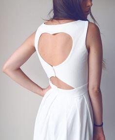 Heart cut out dress  #Chicwish