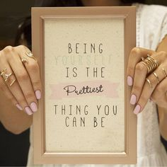 We could not have said it better ourselves! Primark Home, Quote Of The Day, Things To Think About, Canning, Sayings, Frame, Quotes, Instagram, Decor