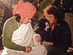 BABAJI & SONDRA RAY, circa 1980 in INDIA