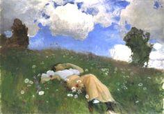 by Finnish artist Albert Edelfelt