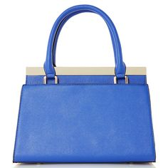 Buy Dune Dusty Turnlock Frame Grab Bag, Light Blue Online at johnlewis.com Grab Bags, Dune, Light Blue, Kate Spade, Frame, Stuff To Buy, Shoes, Picture Frame, Zapatos