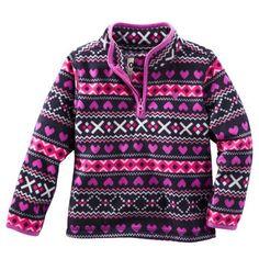 B'gosh Quarter-Zip Fleece Cozies