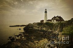 Portland Head Light in Maine, USA. To view or purchase my prints, visit joan-carroll.artistwebsites.com iPhone covers can be purchased at joan-carroll.pixels.com THANKS!