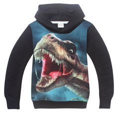 Children Clothing Boys Girls Dinosaur Pattern Long Sleeve T-Shirts Kids boys t shirts Printed Hoodies Boy Sweatshirt Clothes Boys Hoodies, Boys T Shirts, Sweatshirts, Kids Clothes Boys, Children Clothing, Boys Formal Suits, Girl Dinosaur, Baby Girl Party Dresses, Dinosaur Pattern
