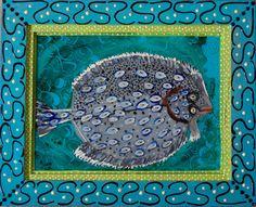 New to SissysFolkArt on Etsy: Flounder (425.00 USD)
