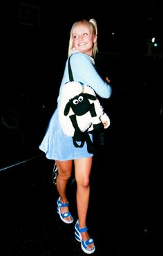 Baby Spice. I had that Shaun the Sheep bag as well! I wore it to school! ^_^