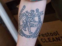 Just the man with his tool bag? Blog: Measure Twice - Cut Once - The Tattoo