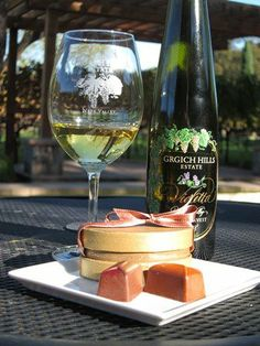February 14-16, 2014 - Wine & Chocolate Pairings at Grgich Hills Estate #napavalley #events #valentinesday