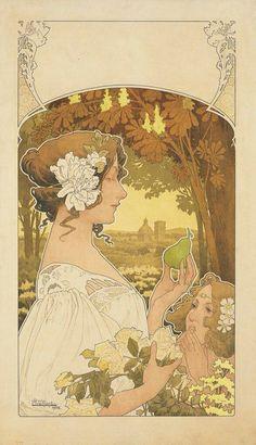 Póster de 1902 de Henri Privat-Livemont (1861-1936)