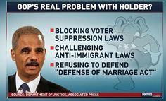 Very Proud to Be Liberal | Why the GOP REALLY is after Holder! | Liberal Truths | Pinterest