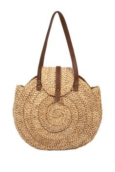 Way Cute Straw Handbag .......$15