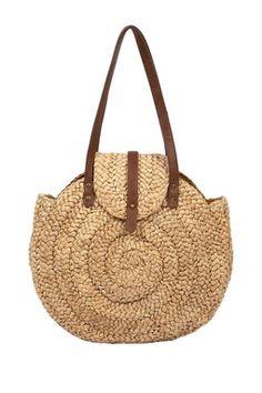 Way Cute Straw Handbag .......$15