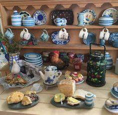 Cornish kitchen by Vanessa Percival.