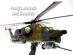 Mil Mi-28 Havoc 1/72 Scale Diecast Helicopter Model by Amercom