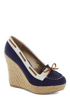 Just What I Yacht Wedge, #ModCloth