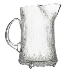iittala Ultima Thule Ice Lip Pitcher In modern literature, Ultima Thule is used to reference the furthest possible place in the world. Tapio Wirkkala's Ultima Thule glassware similarly references the icy cold reaches of Scandinaiva and t.