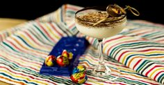 A creamy, boozy drink inspired by your favorite Easter candy.