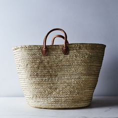 best=Extra Large French Market Storage Basket , from the ever-popular high-low prom dresses, to fun and flirty short prom dresses and elegant long prom gowns. French Baskets, Le Tote, Tote Bag, Market Baskets, Basket Bag, Basket Decoration, Leather Handle, Storage Organization, Wicker
