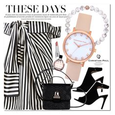 """Christian Paul Watches"" by veisya ❤ liked on Polyvore featuring Monse, Tory Burch, Jimmy Choo and MM6 Maison Margiela"