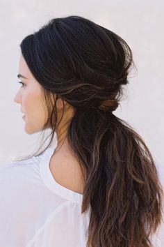 This look will give you tons of volume and, depending on your hair texture, you can also add in some loose waves.