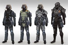TS Troop concepts by Talros.deviantart.com on @deviantART