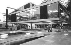 Arhitekt: Vjenceslav Richter Projekt: Jugoslavenski paviljon, EXPO 58, Bruxelles, Belgija