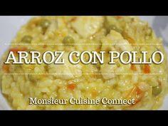 ARROZ CON POLLO en Monsieur Cuisine Connect | Ingredientes entre dientes - YouTube Lidl, Vegetables, Crochet, Food, Salads, Chicken Rice Recipes, Lemon Sorbet, Food Processor, Small Yards