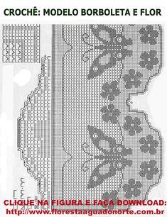 Esty, Crochet Patterns, Crochet Lace Edging, Crochet Hearts, Crochet Round, Tutorial Crochet, Crochet Curtains, Doilies, Tejidos