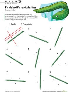 Printables Parallel And Perpendicular Lines Worksheet worksheets on pinterest line logic parallel and perpendicular 2