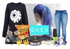 """Untitled #2583"" by frerardforever ❤ liked on Polyvore featuring City Chic and Converse"