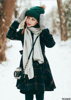Fur Ball Beanie - Ropa de moda de mujeres en Romwe.com