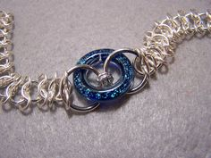 The Beaded Passion: Project: Meridian faux-chainmail bracelet tutorial