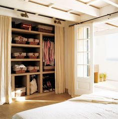 El Mueble Teens and Alcohol Article Body: It's the standard at every weekend party: a case of beer, Open Wardrobe, Bedroom Wardrobe, Menorca, Ideas Armario, Coat Closet Organization, Swedish House, Walk In Closet, Home Living, My Room