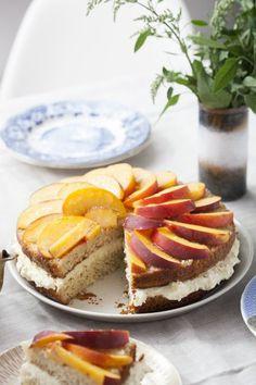 #ciasto jogurtowe z brzoskwiniami #delektujemy #yogurth #cake #peach #desert