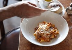 The secret to 10 William St's Parpadelle Bologonese is all in the long, slow cooking and good pancetta.