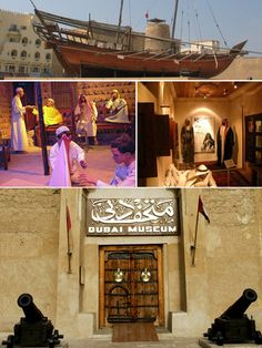 Dubai Museum was built in 1787 and is the oldest existing building in Dubai. It is the main museum and located in the Al Fahidi Fort. This museum was opened by a ruler back in 1971 to present the traditional ways of life in the Emirate of Dubai. More than 1,800 visitors visit the museum daily.