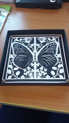 Made by Karen Fogg - I have used the butterfly one #butterflies #cardmaking