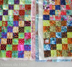 How to quilt in sections (doing a big quilt on a home machine)