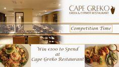 Win €100 voucher to spend in Cape Greko Restaurant, Malahide, Co. Dublin - http://www.competitions.ie/competition/win-e100-voucher-spend-cape-greko-restaurant-malahide-co-dublin/