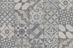 Kitchen tiles patchwork grey for 2019 Kitchen Wall Tiles, Bathroom Floor Tiles, Kitchen Flooring, Penny Flooring, Ceramic Flooring, Terrazzo Flooring, Timber Flooring, Stone Flooring, Vinyl Flooring