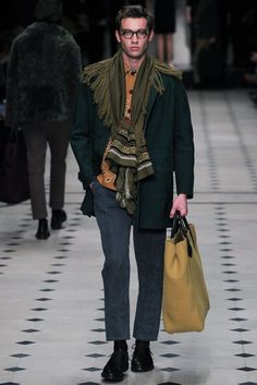 Burberry Prorsum - Fall 2015 Menswear - Look 3 of 49