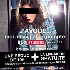 Les 3 Suisses- J'avoue- Affaire Cahuzac - Mai 2013
