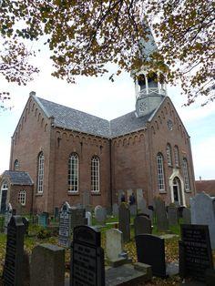 Kerk Midsland-Terschelling.