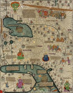 Catalan Atlas – World Maps (1387)