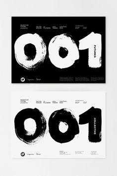 November, 2012. Collective Futures 001. Collectivo Futuro. London. Posters. Afiches. [Bottom 2 photos by Yu Fujiwara].
