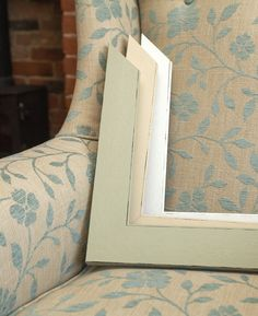Shabby chic meets country cottage  – our Sidewalk range of frame mouldings will blend beautifully with cosy country décor. http://mainlinemouldings.com/index.php?DepartmentID=17&ProductRange=Polcore&CategoryID=591