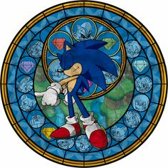 Sonic the Hedgehog dive to the heart