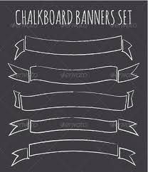 Chalkboard Banners Collection A set of five vintage chalkboard style banners/ribbons with copy-space. ZIP includes scalable vector files, a transparent Chalkboard Banner, Vintage Chalkboard, Chalkboard Quotes, Chalkboard Lettering, Chalkboard Designs, Framed Chalkboard, Blackboard Chalk, Chalkboard Writing, Kitchen Chalkboard